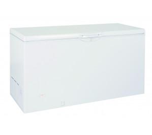 Frigo congélateur laque blanc bahut duo froid +5°-25°c 370 litres