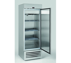 Armoire réfrigérée négative compacte 600 litres 1 porte pleine aspect inox