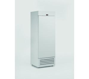 Armoire réfrigérée postive compacte 600 litres 1 porte pleine laque blanc