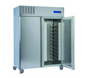 Armoire 2 portes pâtissière 600x400 négative 1400 litres