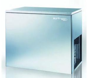 Fabrique à glaçons en continu 155kg/j. condenseur air système a projection d'eau sans réserve de stockage