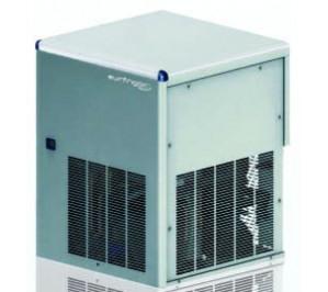 """Fabrique de glace """"paillette"""" 164kg/j. condenseur eau systeme à projection sans réserve de stockage"""