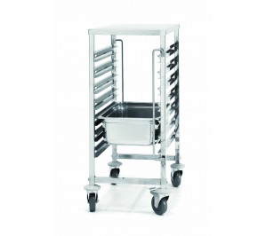 Chariot inox 7 niveaux GN 1/1