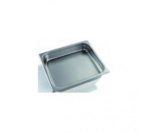 Bac/plaque GN 2/1 hauteur 40mm inox