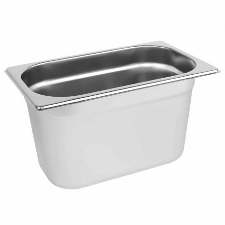 Bac gastronorme GN1/4 hauteur 100 inox