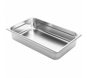 BAC GASTRONORME GN1/1 HAUTEUR 200 INOX