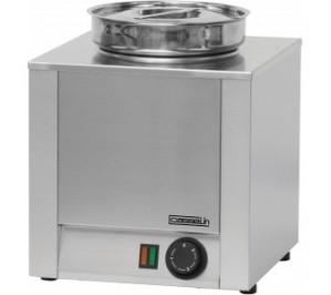 Bain marie à sauce 4.5 litres - 200 w / 230 v - l 300 x p 300 x h 350 mm - cbms1