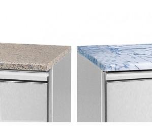 Option dessus granit ou marbre pour tables patissieres