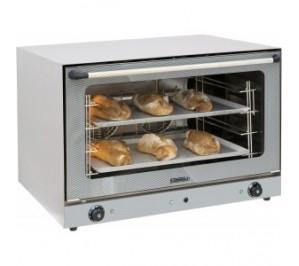 Four air pulsé 4 niveaux pâtissier avec vapeur - 6 400 w / 400 v - l 835 x p 800 x h 570 mm - 4 x 600 x 400 mm - cfcv3