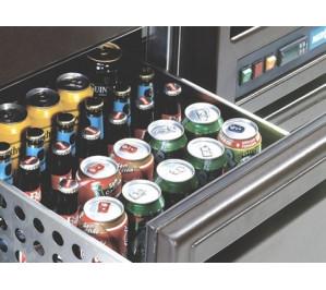 Kit bloc 2 grands tiroirs réfrigérés (ht. 280mm) en remplacement d'une grande porte