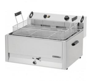 Friteuse à beignets électrique 30 litres - 15 000 w / 400 v - l 670 x p 650 x h 370 mm - cfb30