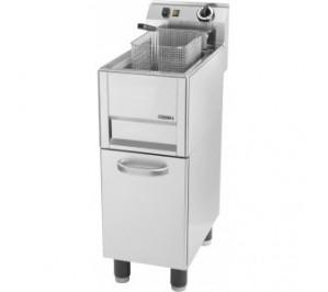 Friteuse électrique sur pieds 8 litres - 6 000 w / 400 v - l 210 x p 235 x 100 mm - cfp8