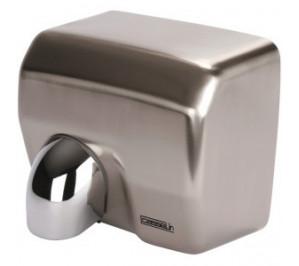 Sèche mains à bec inox - boîtier anti-vandalisme - 270 m3/h - 2500 w / 230 v - l 270 x p 200 x h 240 mm - cb2inox