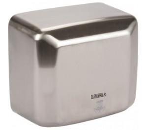 Sèche mains inox - boîtier anti-vandalisme - 270 m3/h - 2500 w / 230 v - l 270 x p 142 x h 240 mm - c1inox