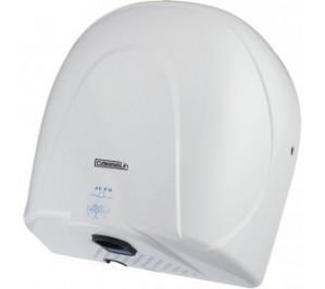 Sèche-mains à propulsion d'air blanc - boîtier anti-vandalisme - 140 m3/h - 900 w / 240 v - l 280 x p 174 x h 300 mm - csm2b