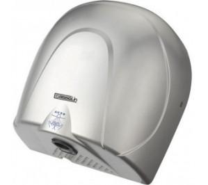 Sèche-mains à propulsion gris - boîtier anti-vandalisme - 140 m3/h - 900 w / 240 v - l 280 x p 174 x h 300 mm - csm2g