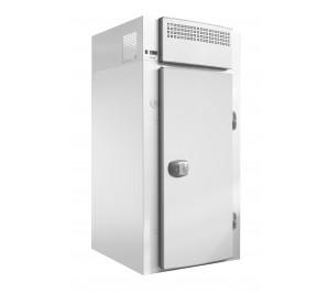 Mini chambre froide inox réfrigérée démontable avec étagères