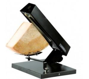 Appareil à raclette - quart de meule - boîtier de chauffe incliné - dimensions : L 242 x p 285 x h 333 mm