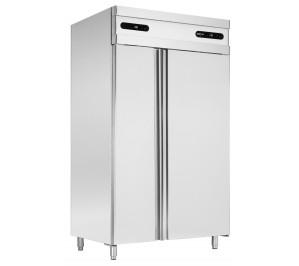Armoire 2 portes : 1/3 congélation GN1/1 et 2/3 réfrigération GN 2/1-