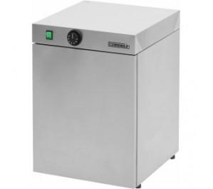 Chauffe assiettes - 30 assiettes - acier inoxydable - 400 w / 230 v - l 400 x p 460 x h 570 mm - cca30