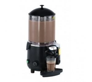 Chocolatière 10l noire - socle en abs et récipient en polycarbonate - agitateur en inox - l 410 x p 280 x h 580 mm