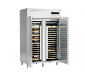 Armoire pâtissière 2 portes froid positif / 0° +8°c - 1400 litres -