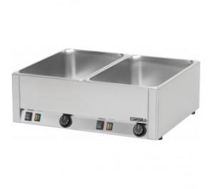 Double bain marie GN 1/1 - 3000 w / 230 v - l 660 x p 540 x h 220 mm - cbmd