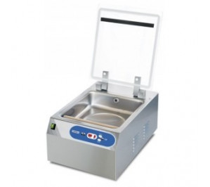 Emballeuse sous vide à cloche auto professionnelle - acier inox 18/10 - barre de soudure 400mm - 900 w / 230v - casselin