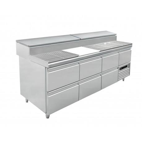 Remplacement d'une porte par deux tiroirs gn 1/1 pour meuble s1 mercatus