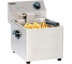 Friteuse électrique 4 litres - 2 000 w / 230 v - l 220 x p 400 x h 315 mm - cfe4