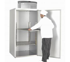 Chambre de stockage réfrigérée démontable froid positif avec 2 +8°c