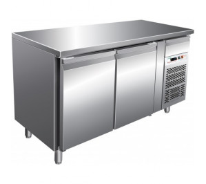 TABLE REFRIGEREE 2 PORTES PATISSIER DESSUS CENTRAL