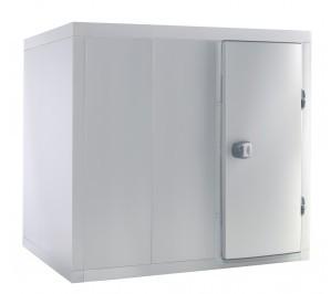 Chambre froide positive 1400x2000 panneaux avec rayonnage