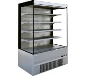Vitrine Long..1310 ouverte réfrigérée compact tout inox cronus plus