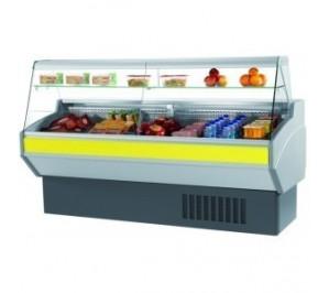 Atena 2000 - vitrine réfrigérée compacte - 2 portes - 2000mm - materiel professionnel