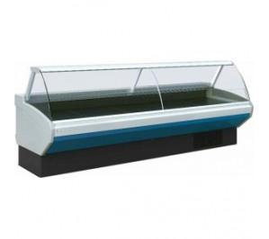 Vitrine réfrigérée Long..3830 vitre panoramique sans réserve incorporée série amalia