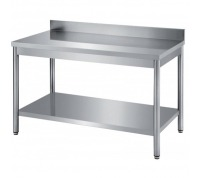 table inox ouverte